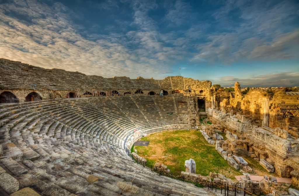 Амфитеатр в Сиде
