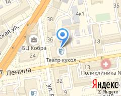 Театр кукол в Новосибирске на карте
