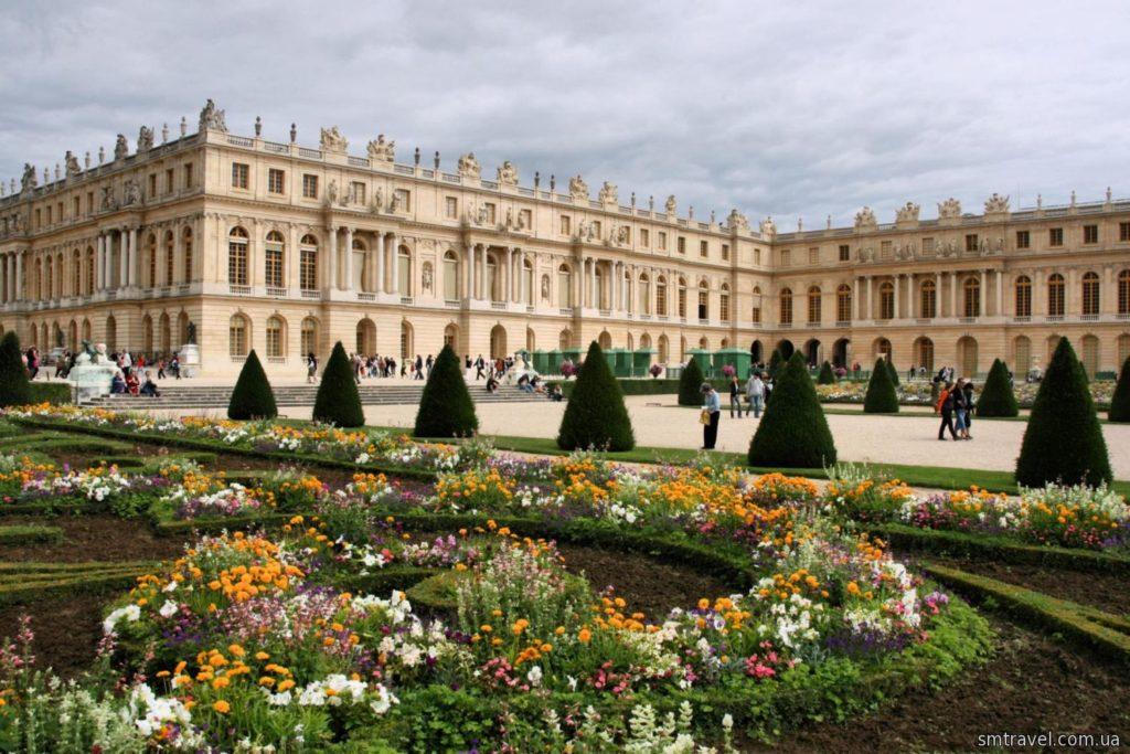 Дворец Версаль в Париже