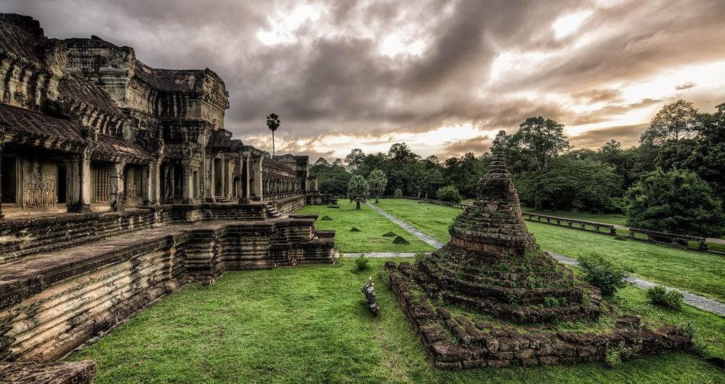 Камбоджа храм Ангкор ват фото