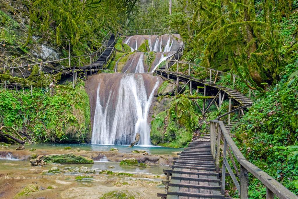 33 Водопада Сочи фото