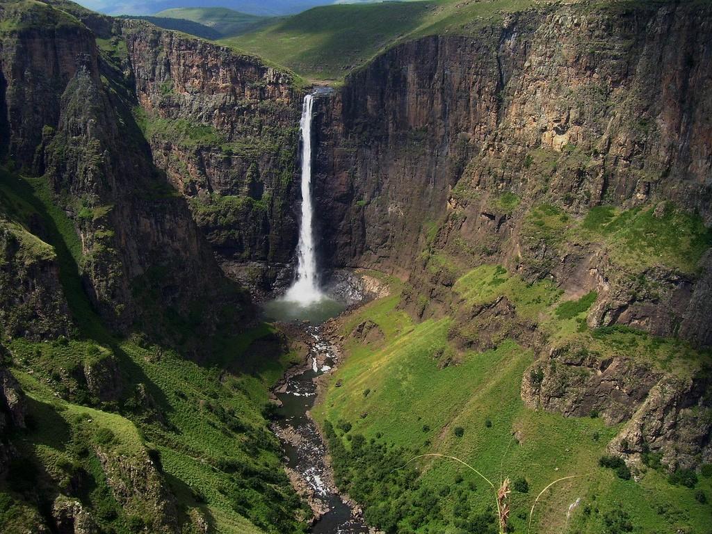 Водопад Малетсюнейане
