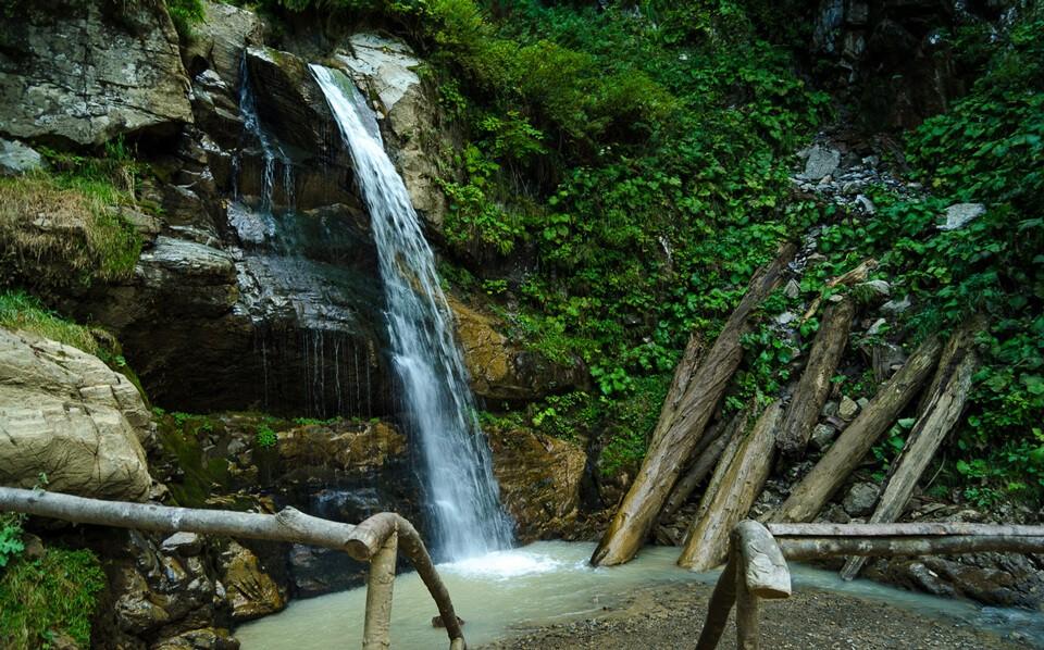 Менделиха парк водопадов