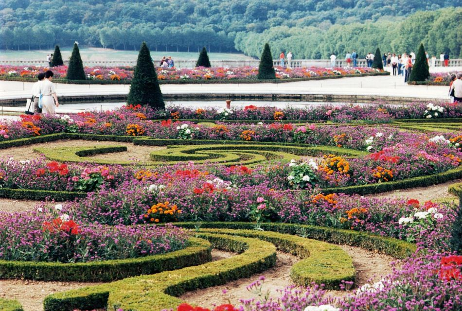 Сады Версаля фото