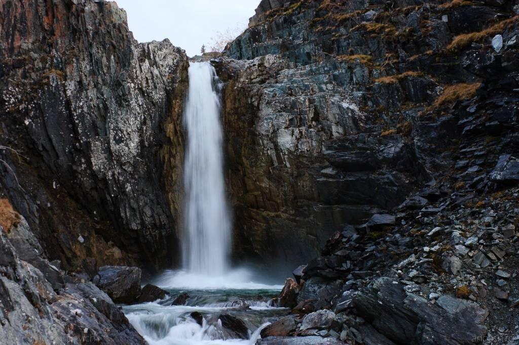 Водопад Текелю Алтай