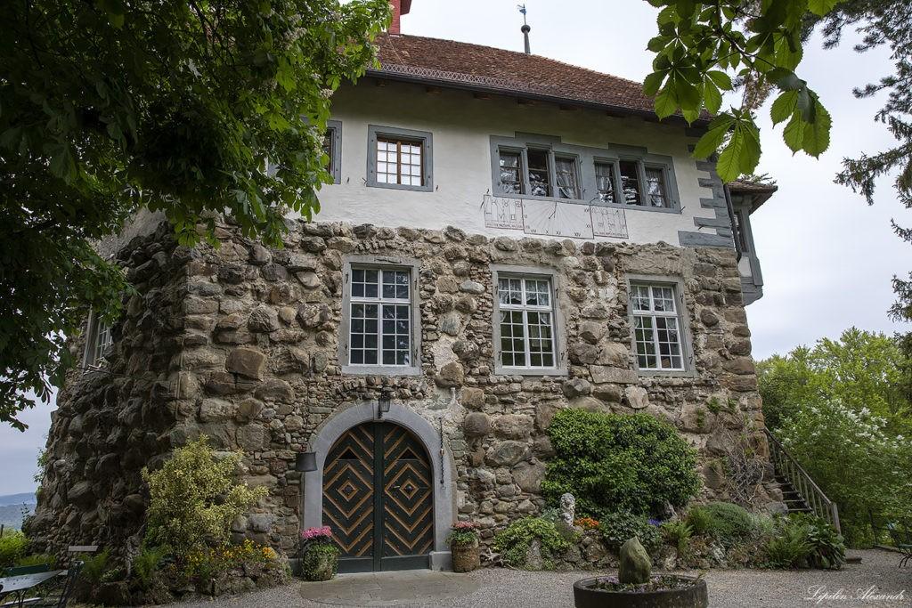 Замок Верденберг в Швейцарии