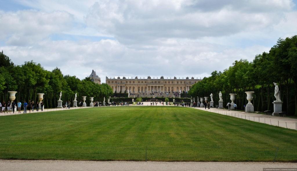 Версаль фото Франция