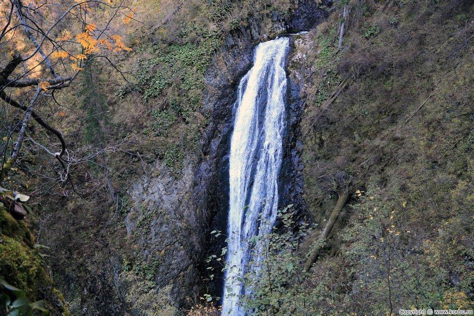 Кокорек водопад