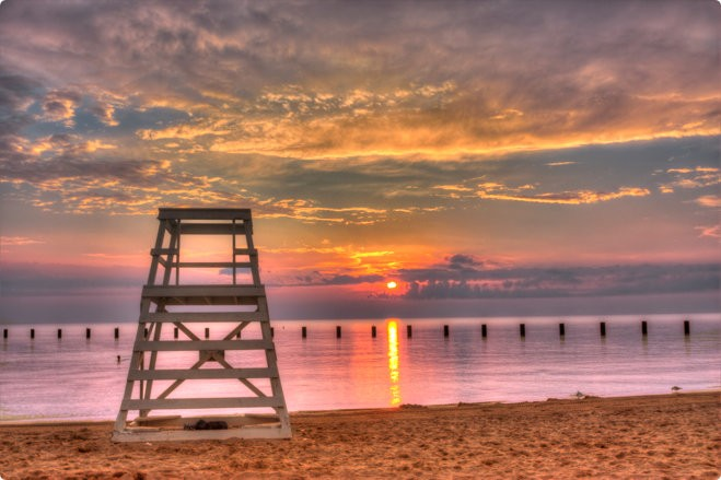 пляж Фуллертон