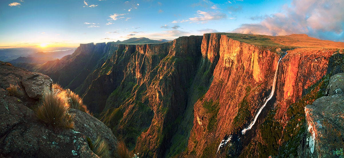 Водопад Тугела Южная Африка
