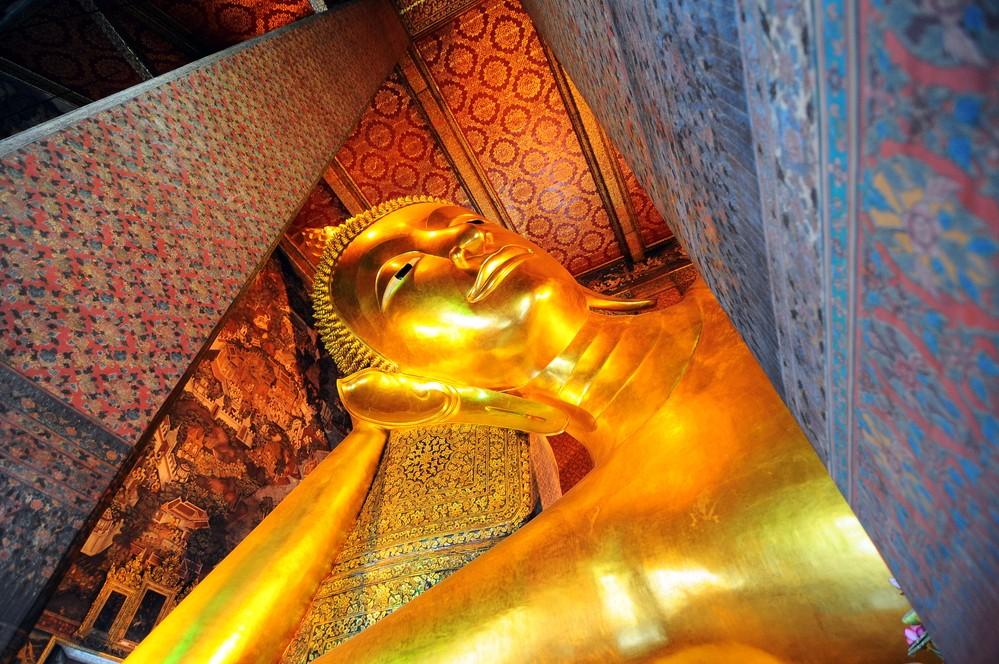 Ват Пхо храм лежащего Будды