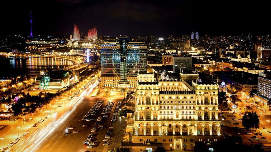 Очарование ночного Баку - экскурсии