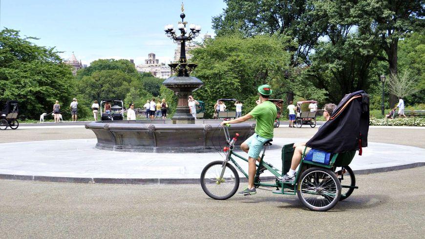 По Центральному парку на велорикше - экскурсии