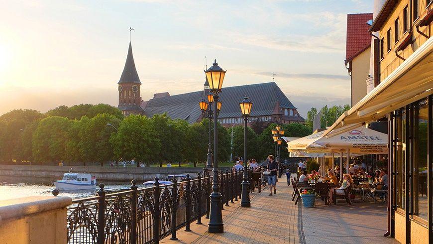 Семейная прогулка по Калининграду - экскурсии