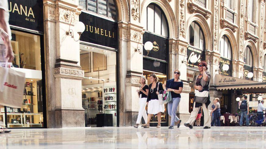 «Золотой квадрат» Милана иНеделя моды - экскурсии