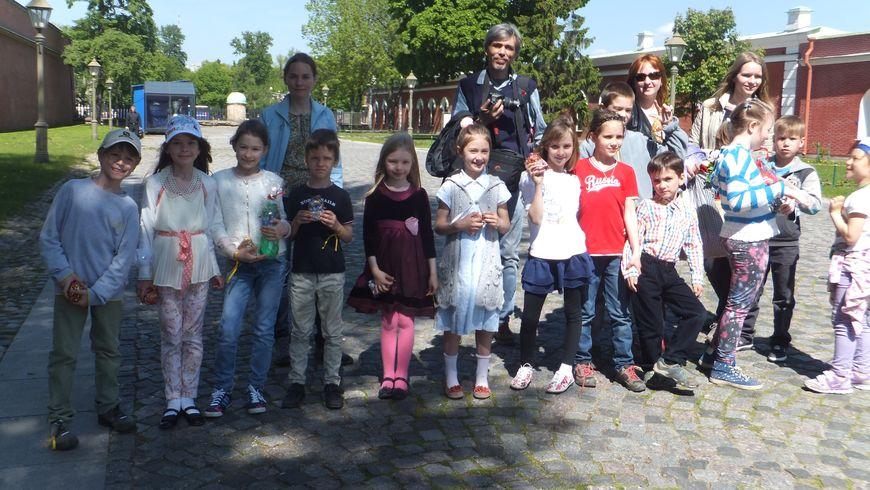 Петропавловская крепость для детей - экскурсии