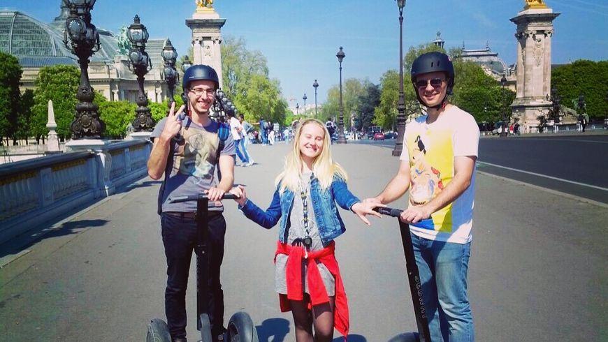 Прогулка по Парижу на Segway - экскурсии