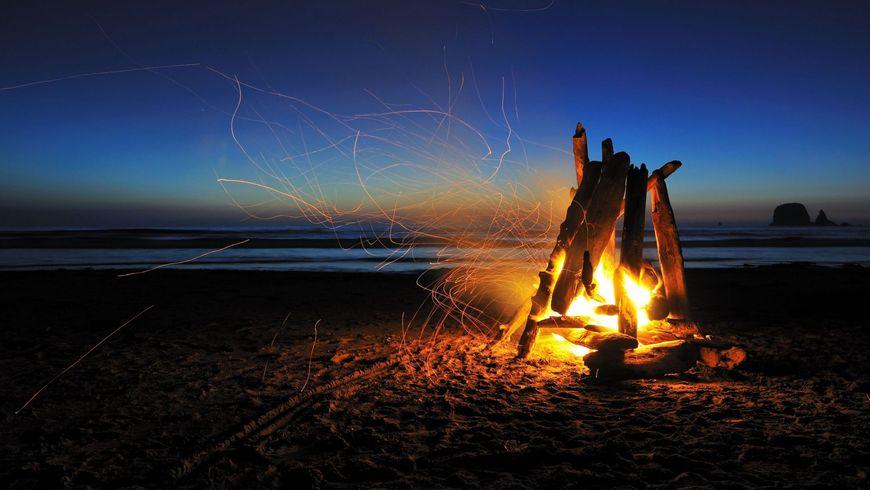 Ночь на диком пляже - экскурсии