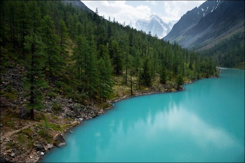 Голубые озера Алтай
