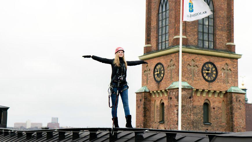 Путешествие по крышам Стокгольма - экскурсии