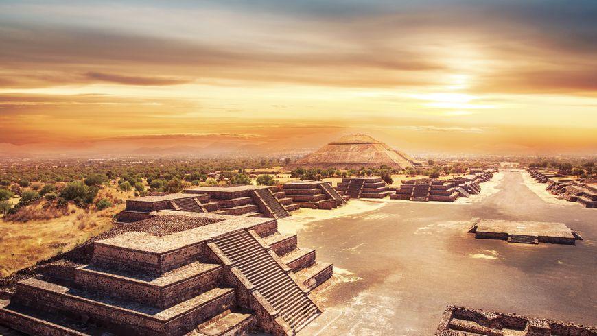 Мехико-Cити ипирамиды Теотиуакана - экскурсии