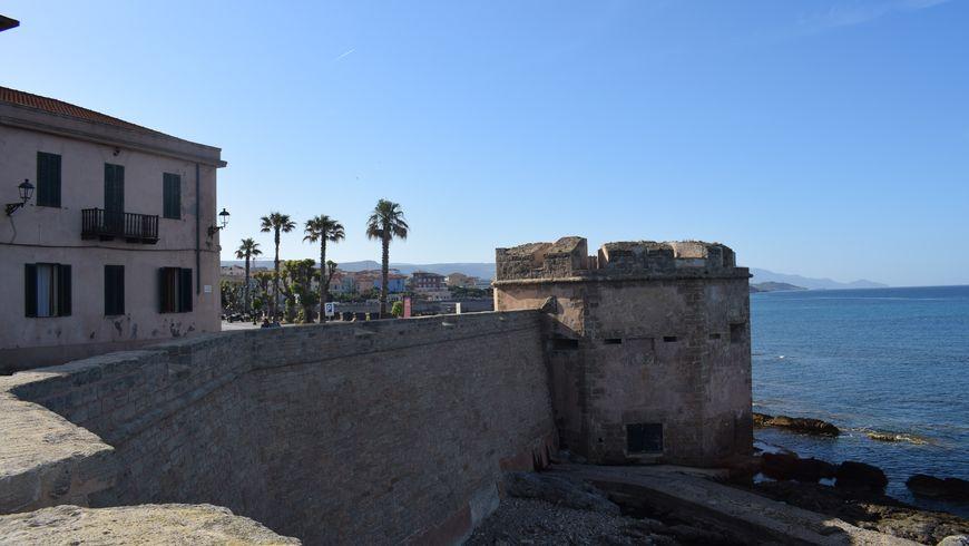 Альгеро: старый город