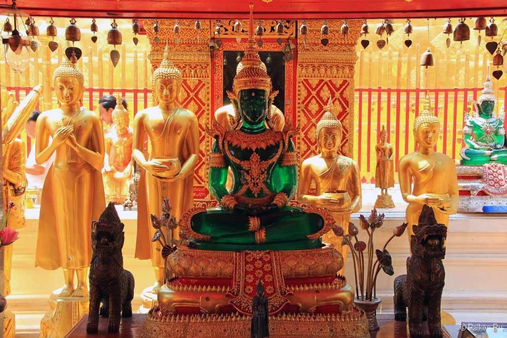 Изумрудный Будда в Чианг Май