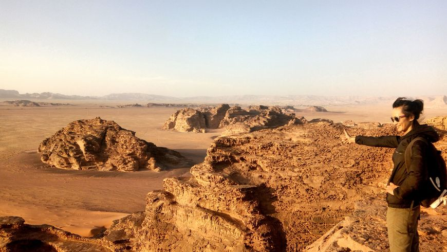 Прогулка по пустыне Вади Рам - экскурсии