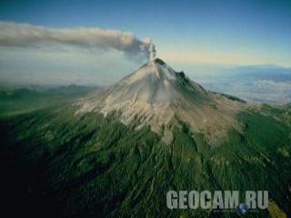 Веб-камера вулкана Попокатепетль