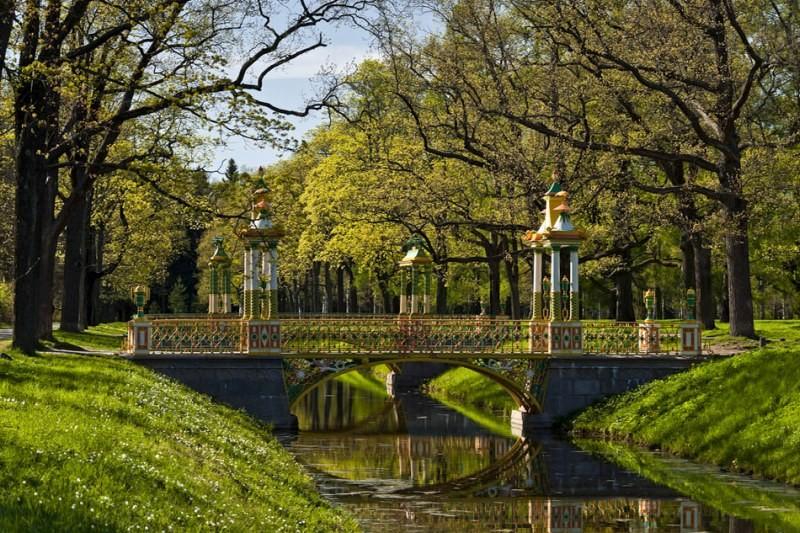 Где находится Александровский парк?