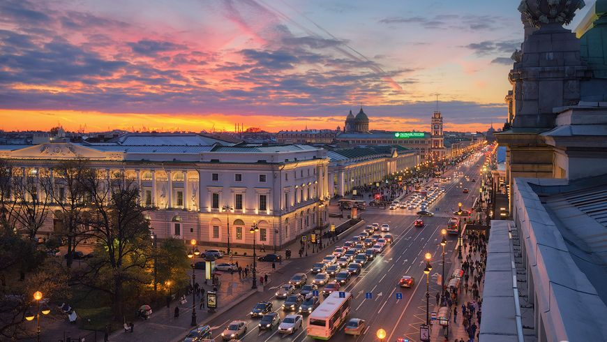 По крышам Невского проспекта - экскурсии