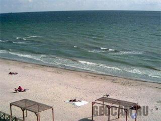 Веб-камера на пляже в Коблево
