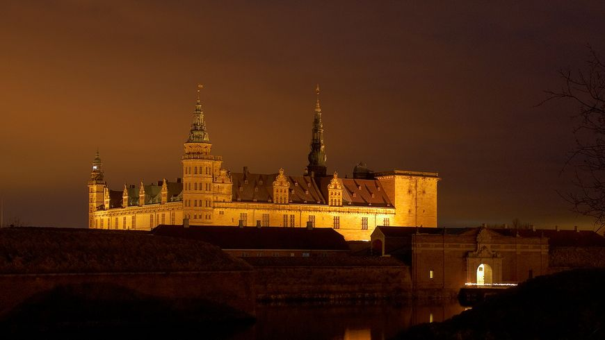 Замок Принца Гамлета— Кронборг - экскурсии