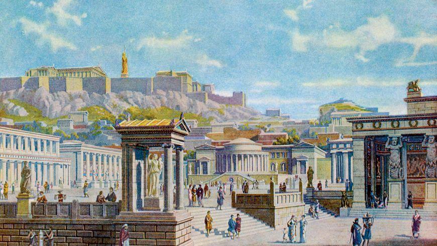 Панафинейский путь к Акрополю - экскурсии