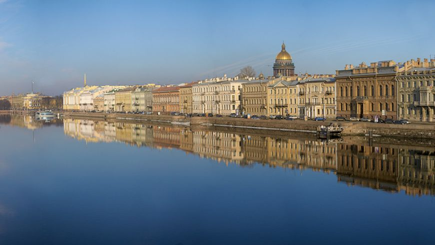 Три парадные набережные Петербурга - экскурсии