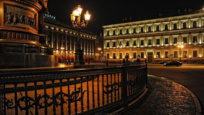 На автобусе по ночному Петербургу - экскурсии