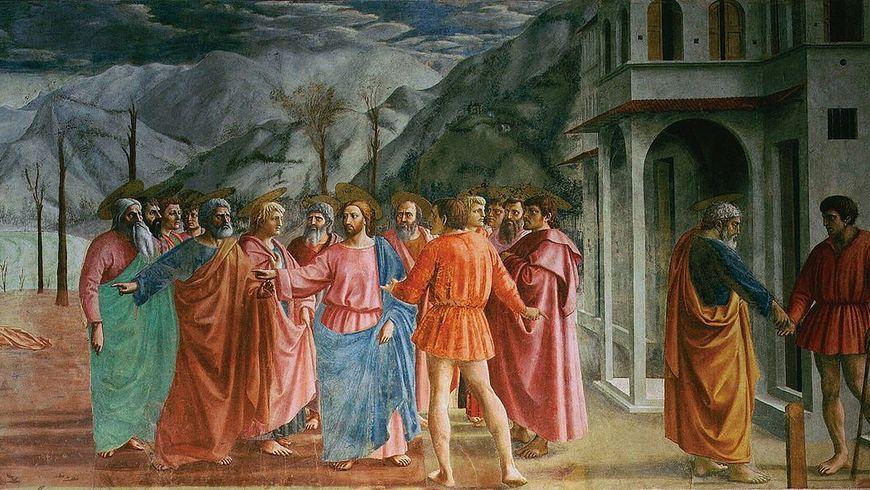 Капелла Бранкаччи: фрески