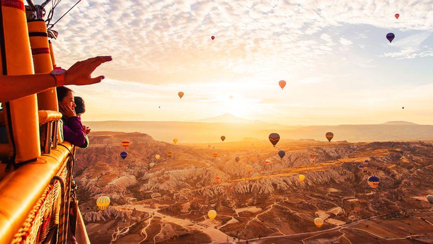 На воздушном шаре по долинам Каппадокии! - экскурсии