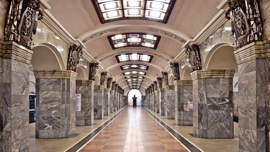 Петербургское метро - экскурсии