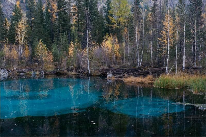 Голубые озера Алтайского края