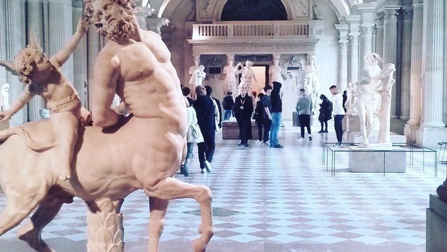 Интерактивная прогулка по Лувру с детьми - экскурсии