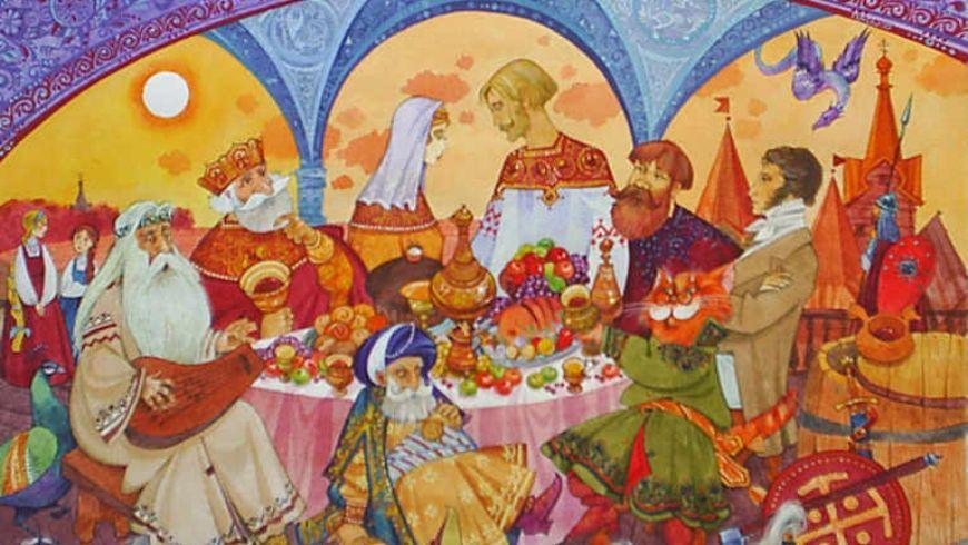 Русская сказка Коломенского - квест для детей - экскурсии