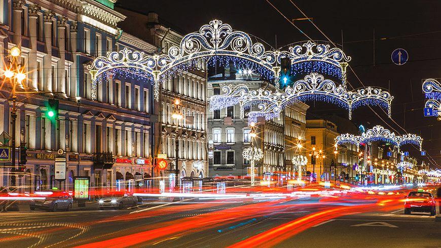 Новогодняя сказка Петербурга - экскурсии