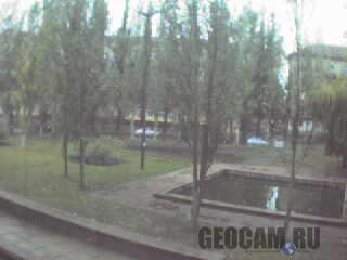 Веб-камера в сквере, Кривой Рог