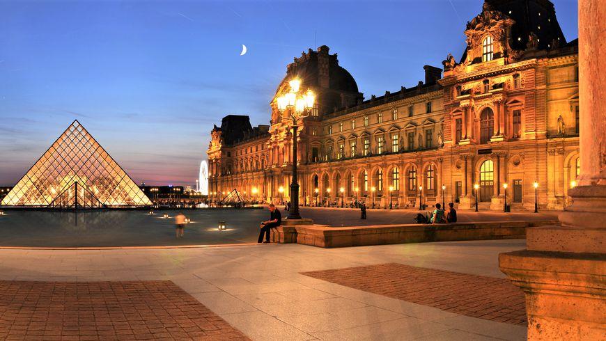 Первое посещение Лувра. Вечерняя прогулка по музею - экскурсии