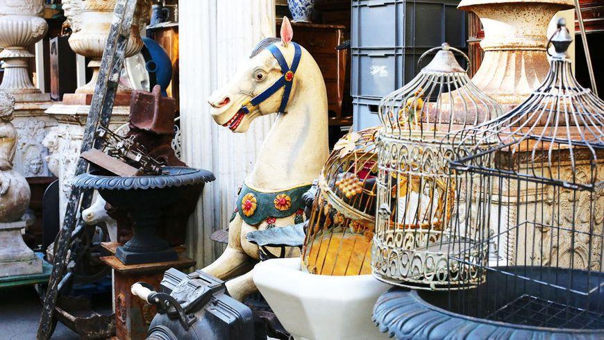 Блошиные рынки пригородов Парижа: охота за сокровищами - экскурсии