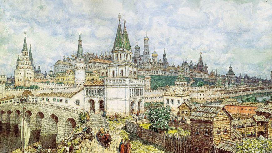 Москва средневековая - экскурсии
