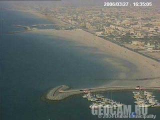 Веб-камера 1: береговая линия Дубай