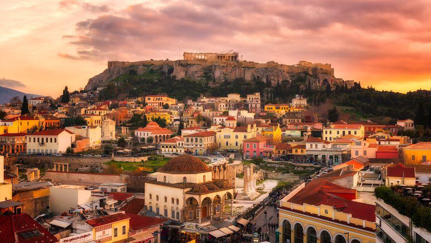 Прогулка по старым Афинам - экскурсии