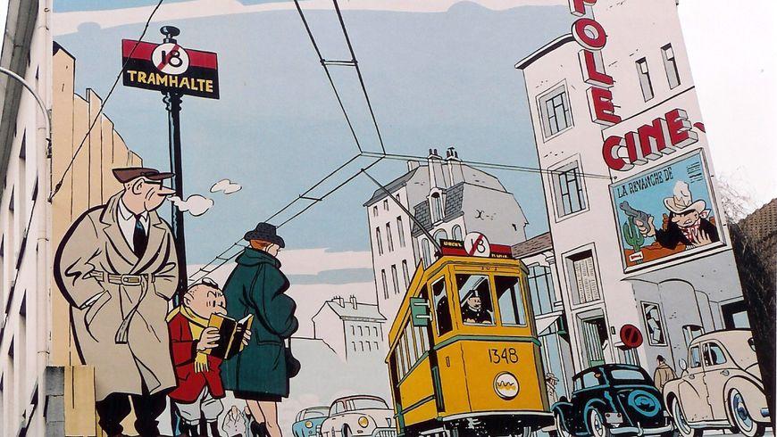 Стрит-арт по-брюссельски: родина комиксов - экскурсии